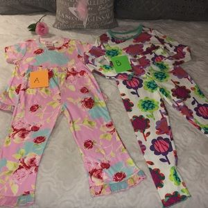 Final price-GIRLS PJ's SET, SIZE 4